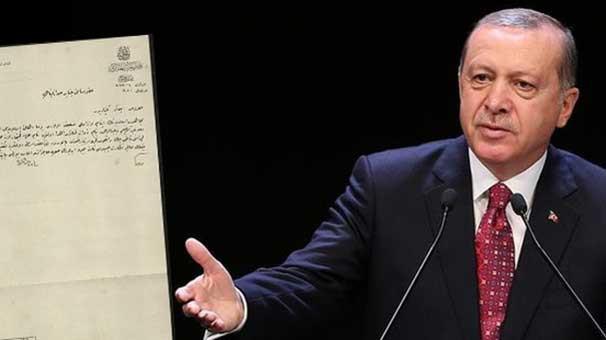İşte Erdoğan'ın bahsettiği ''Arakan'' belgesi