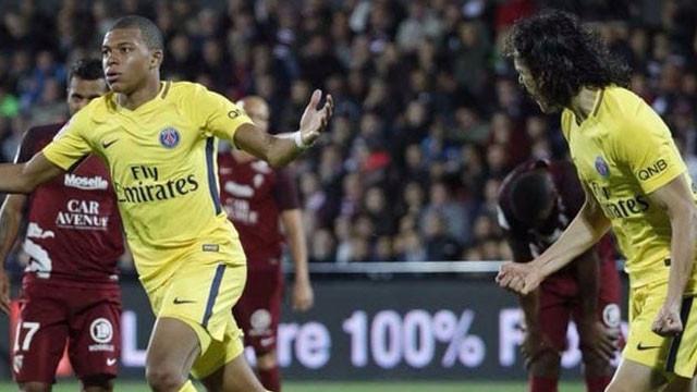 PSG, Metz'i darmadağın etti ! Mbappe, Neymar...
