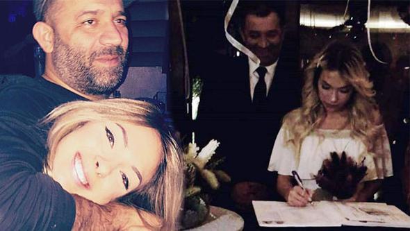 Ünlü oyuncu yeni yıla evli girdi !