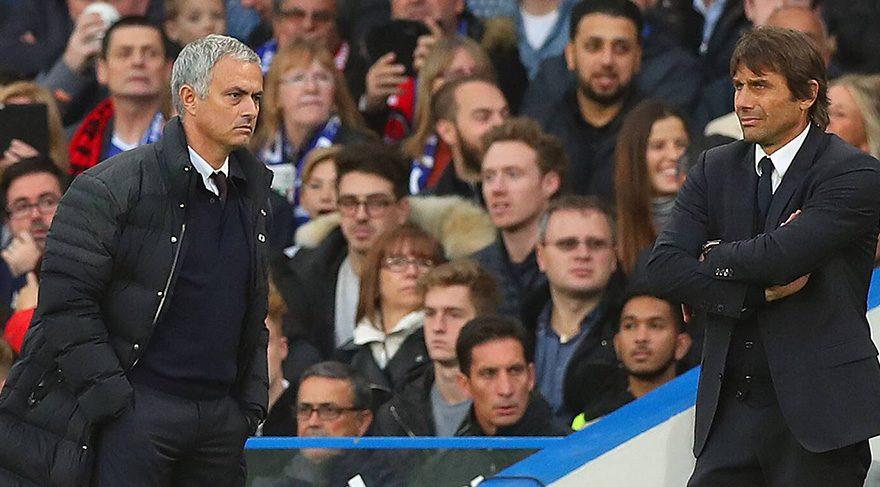 Gerilim artıyor ! Mourinho ve Conte...