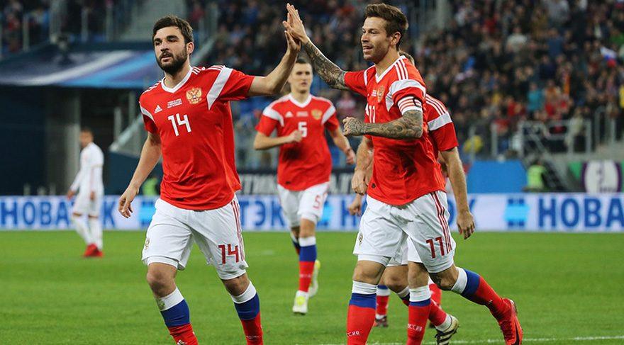 Rusya Milli Takımı'na Dünya Kupası şoku !