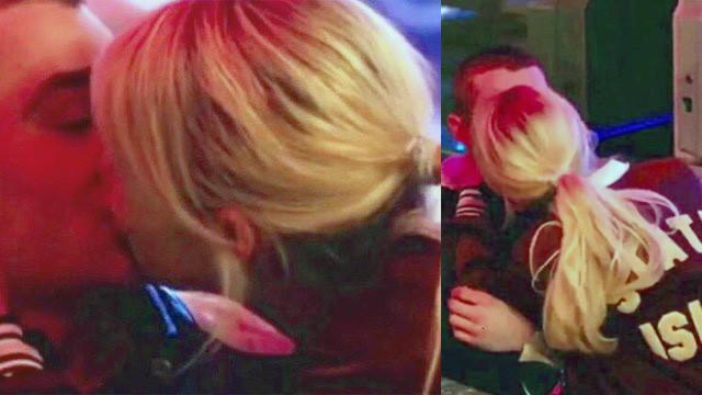 Aleyna Tilki'nin dudak dudağa görüntüleri film sahnesi çıktı