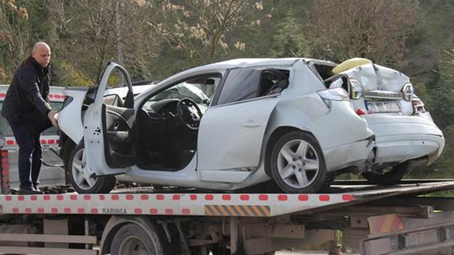 TEM'de büyük kaza ! 10 kilometrelik kuyruk oluştu
