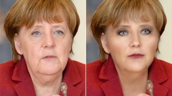 Merkelli reklam ülkede olay oldu