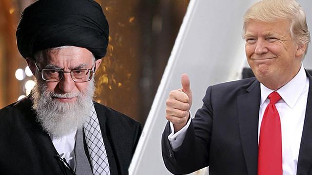 Trump'tan İran hükümetine: Vahşi ve yoz