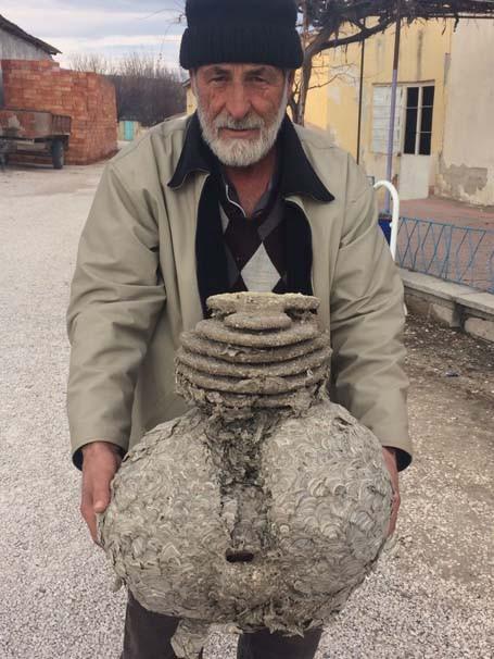 Eskişehir'de evinin çatısında buldu
