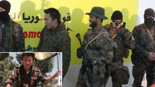 YPG saflarında yabancı teröristler de var !