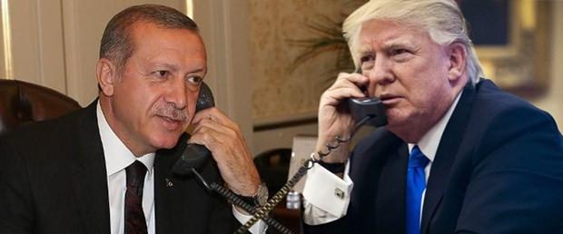 Erdoğan ile Trump'tan kritik görüşme ! Neler konuşuldu ?