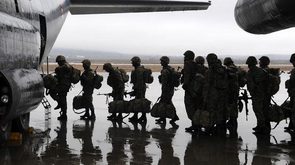 Bingöl'den 200 komando Afrin'e uğurlandı