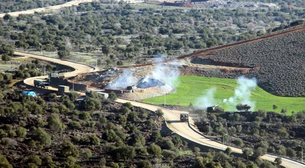 AFP, Zeytin Dalı Harekatı'ndan bu görüntüleri servis etti