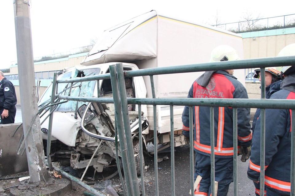 İstanbul'da korkunç kaza !
