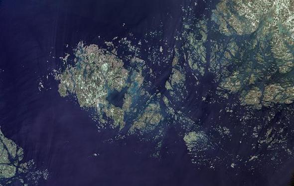 Dünya'nın uzaydan çekişmiş görüntüleri