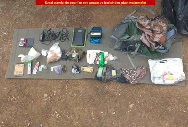 Diyarbakır'daki operasyonda PÖH kıyafeti ele geçirildi