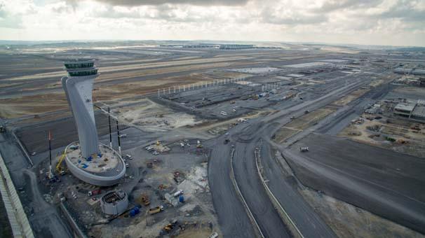 İstanbul Yeni Havalimanı son teknolojiyle donatıldı