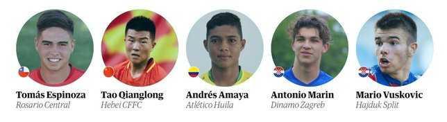 İşte geleceğin yıldızı 60 futbolcu !
