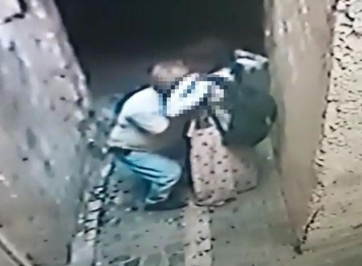 Engelli kıza dakikalarca kabus yaşatan sapık kamerada