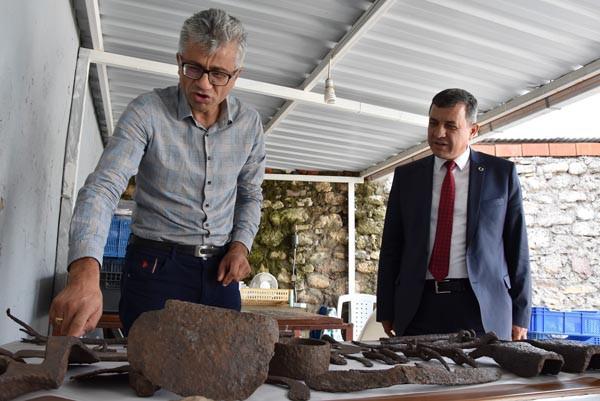 1500 yıllık için dolu küp bulunudu !
