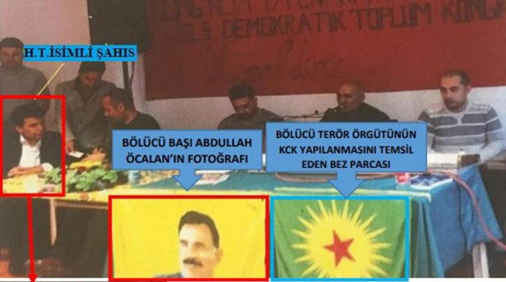 PKK'nın masasında fotoğrafı çıkan iş adamı tutuklandı