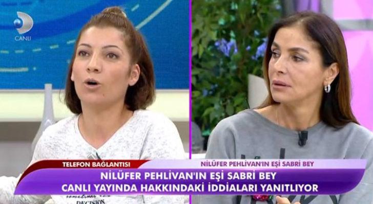 Canlı yayında skandal: Kocasını yatakta bastı kuma oldu