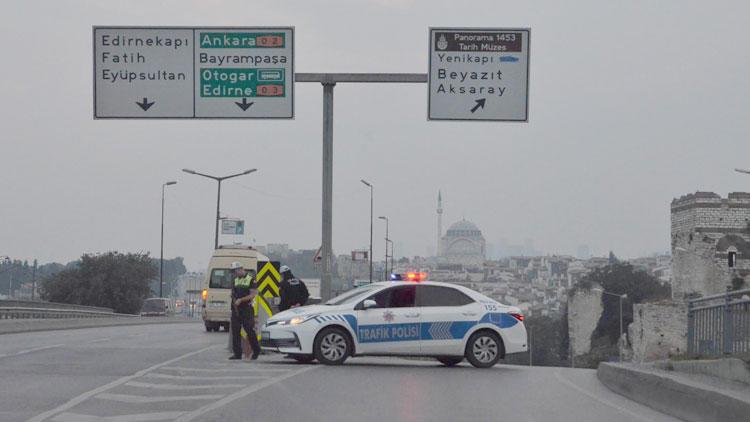 Sürücüler dikkat ! İstanbul'da bugün bu yollar kapalı