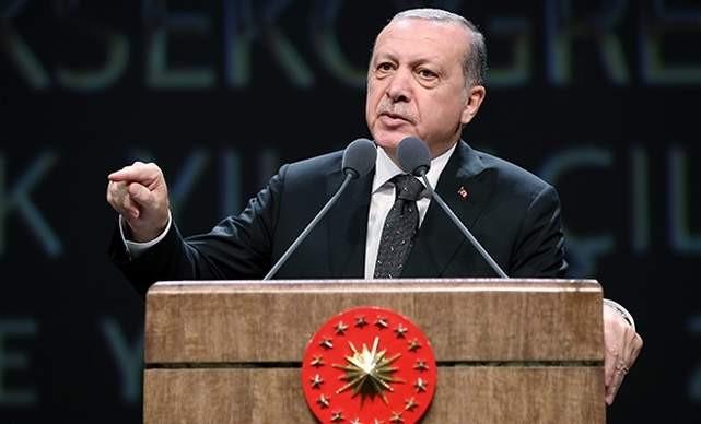Erdoğan'dan Danıştay sempozyumunda Danıştay'a Andımız tepkisi