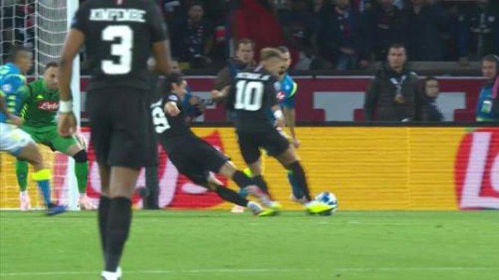 Cavani'den Neymar'ı çıldırtan müdahale !