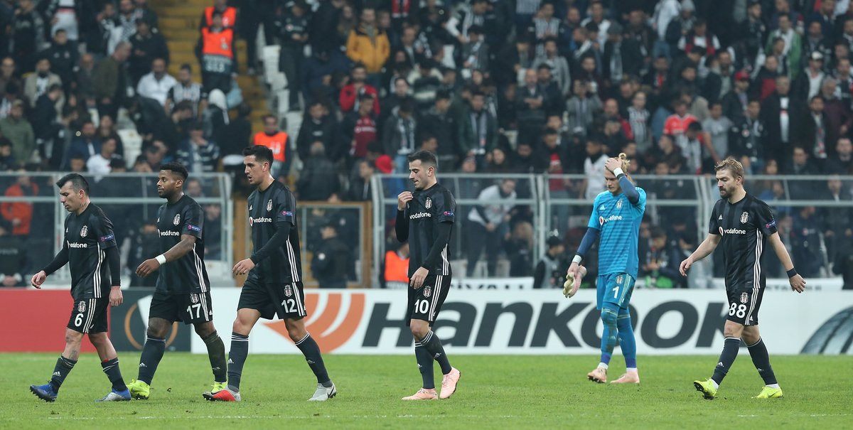 Beşiktaş - Genk: 2-4