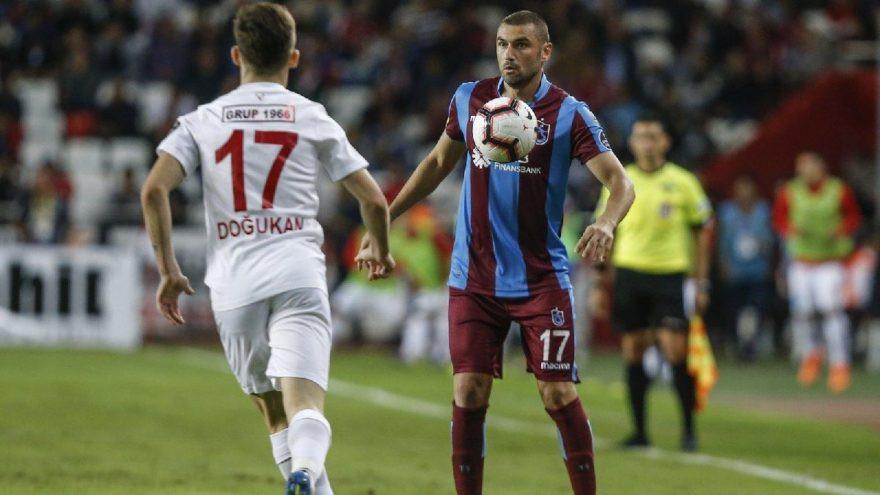 Antalyaspor - Trabzonspor: 1-1