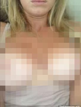 Ünlü sunucunun çıplak fotoğrafları sızdırıldı !
