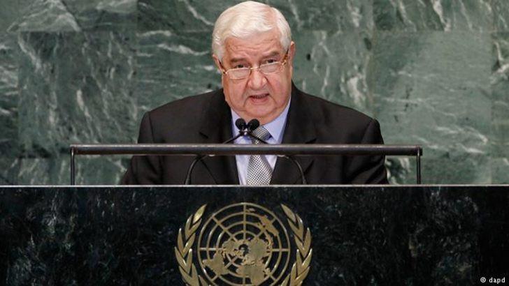 Suriye Türkiye'ye şart sundu: ''Askerinizi çekin!''