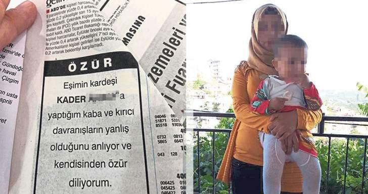 Gazetede şoke eden ilan: ''Affet beni baldız !''