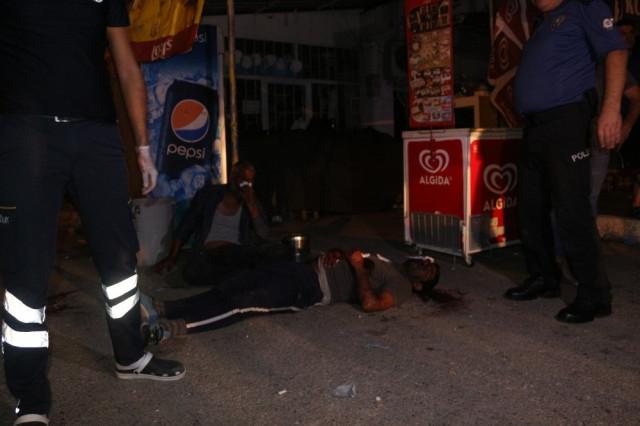 Polisin gözaltına aldığı şahsa silahlı saldırı ! Çatışma çıktı