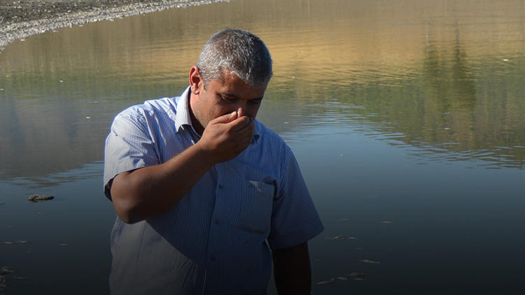 Gaziantep'te kötü koku alarma geçirdi