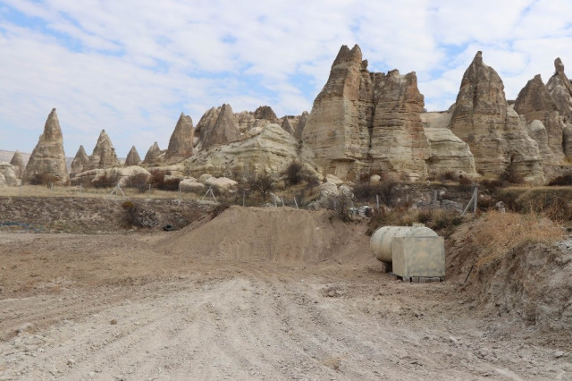 Kapadokya'da tepki çeken olay - Resim: 1