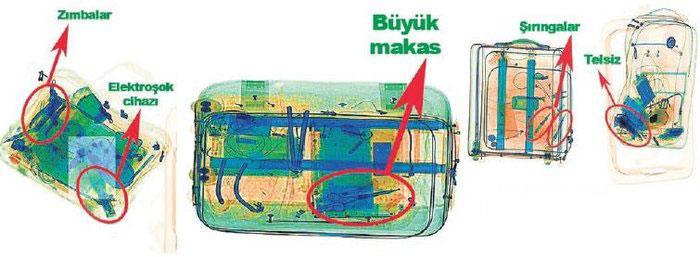 İnfaz timinin valizlerinden bakın neler çıktı