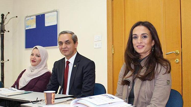 Ürdün prensesi Türkçe öğreniyor