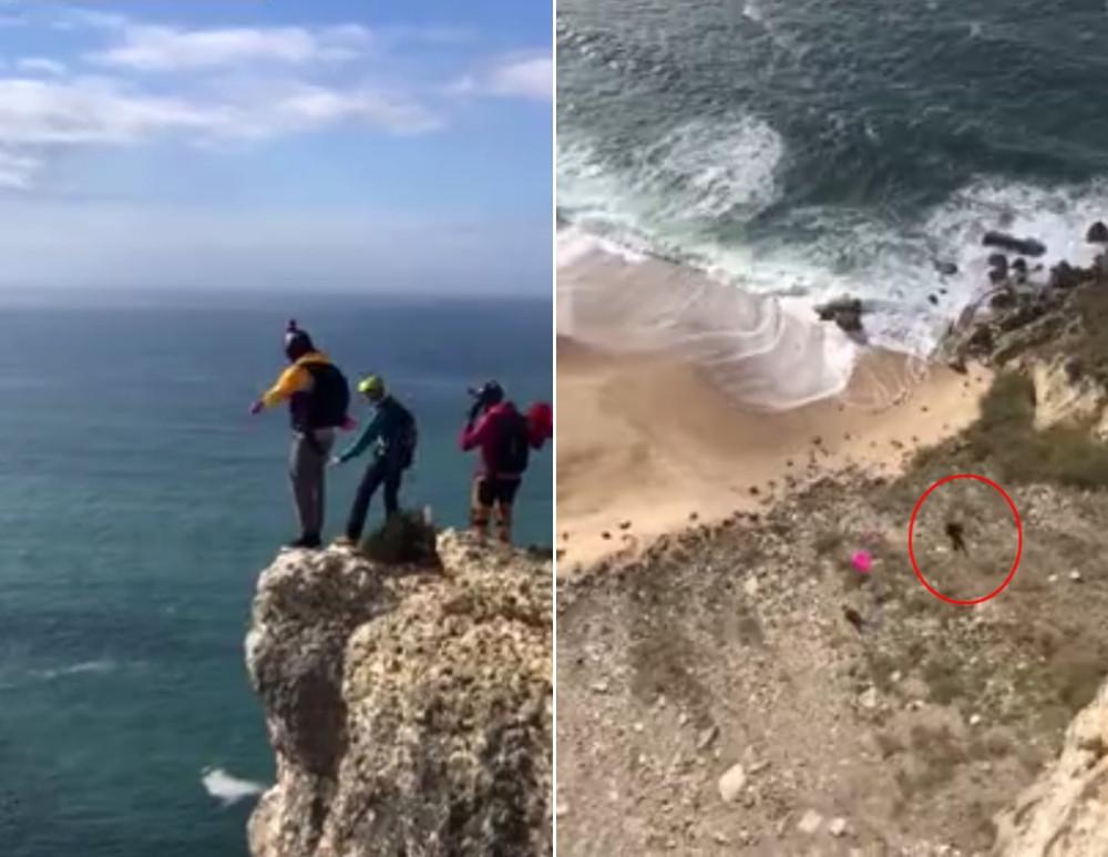 Paraşütü açılmayan turistin korkunç sonu