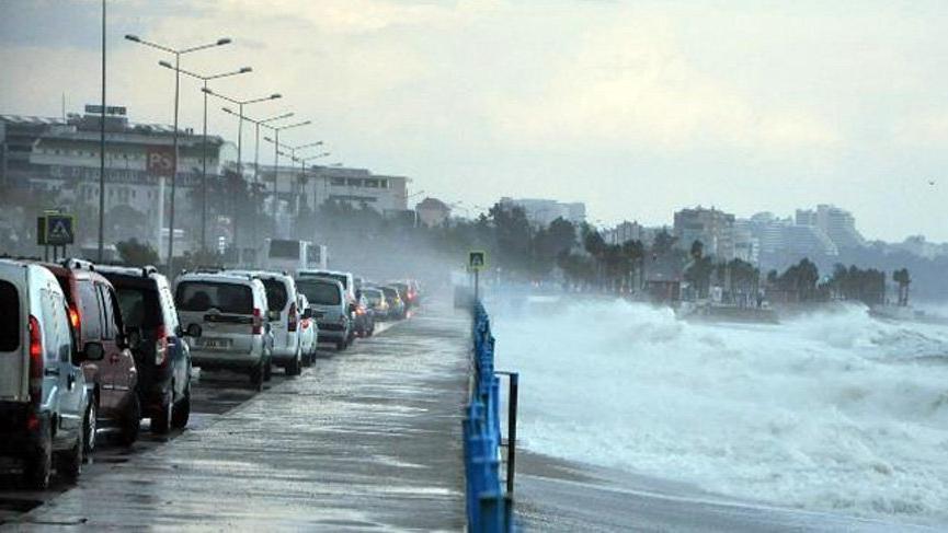 Meteoroloji'den Marmara için fırtına uyarısı !