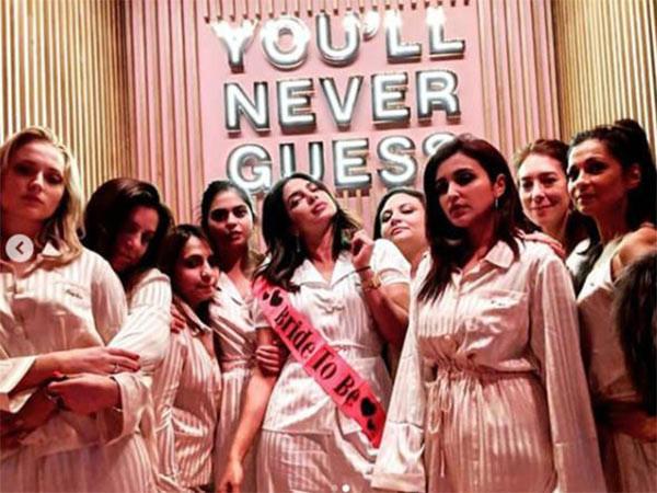 Priyanka Chopra'nın bekarlığa veda partisi olay oldu