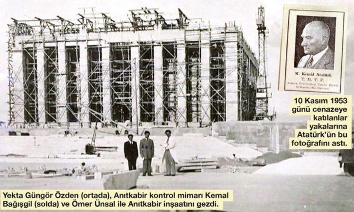 ''Tabut açıldı, Atatürk'ün yüzünü gördüm''