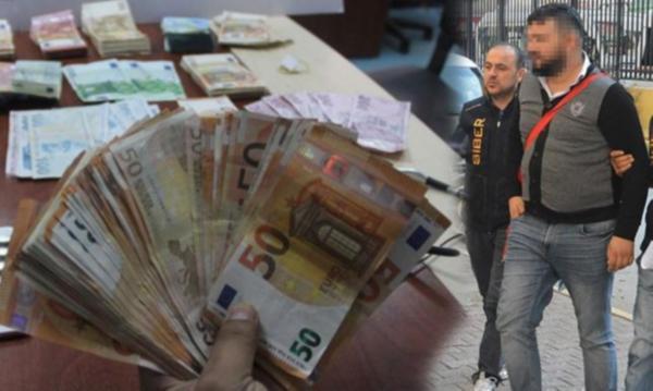 Havalimanında 250 bin TL parayla yakalandı