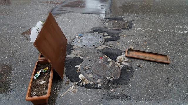 Taşan kanalizasyondan bebek cesedi çıktı