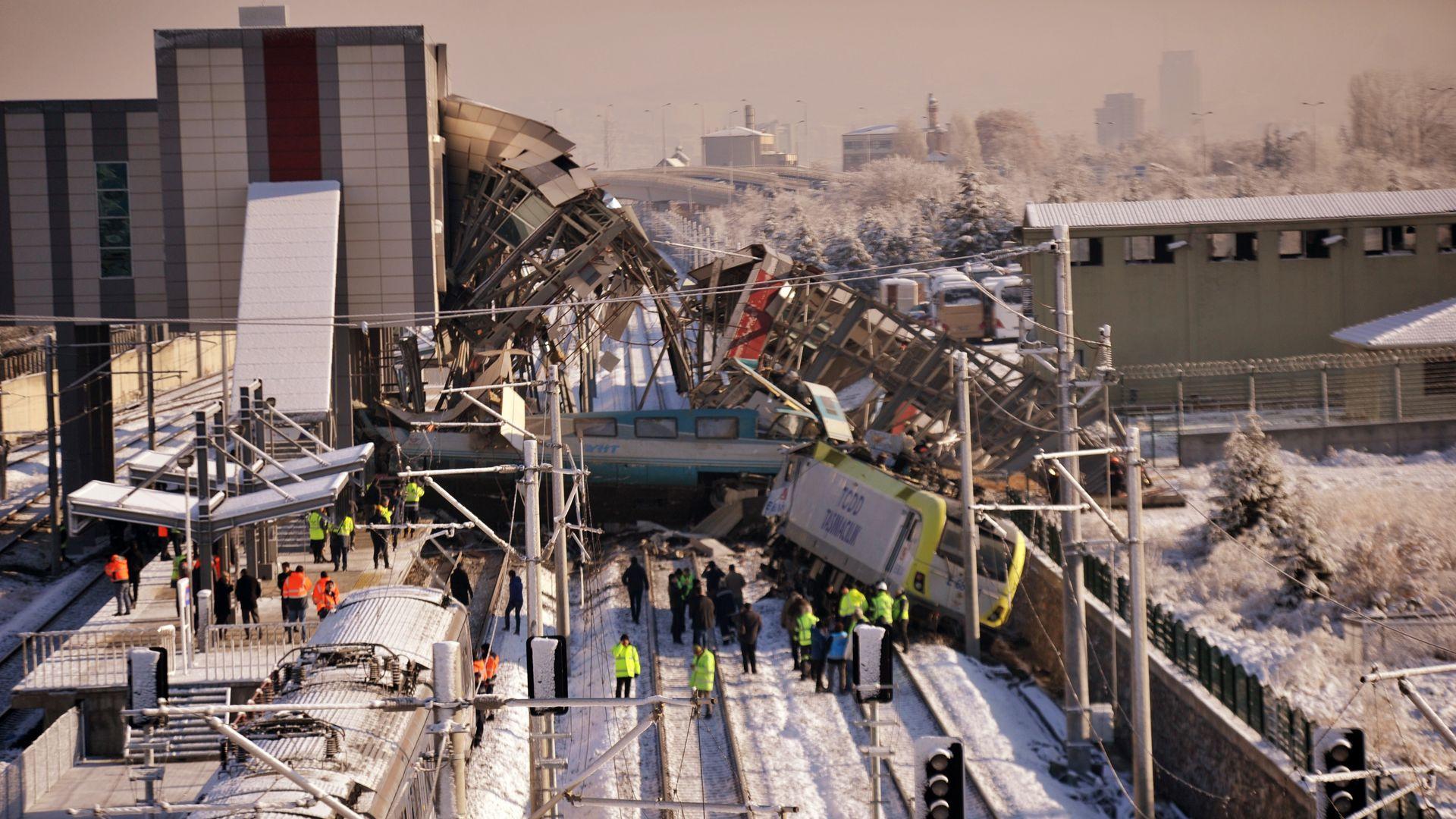Yüksek Hızlı Tren kazasında şok ifade: ''Unutmuş olabilirim !''