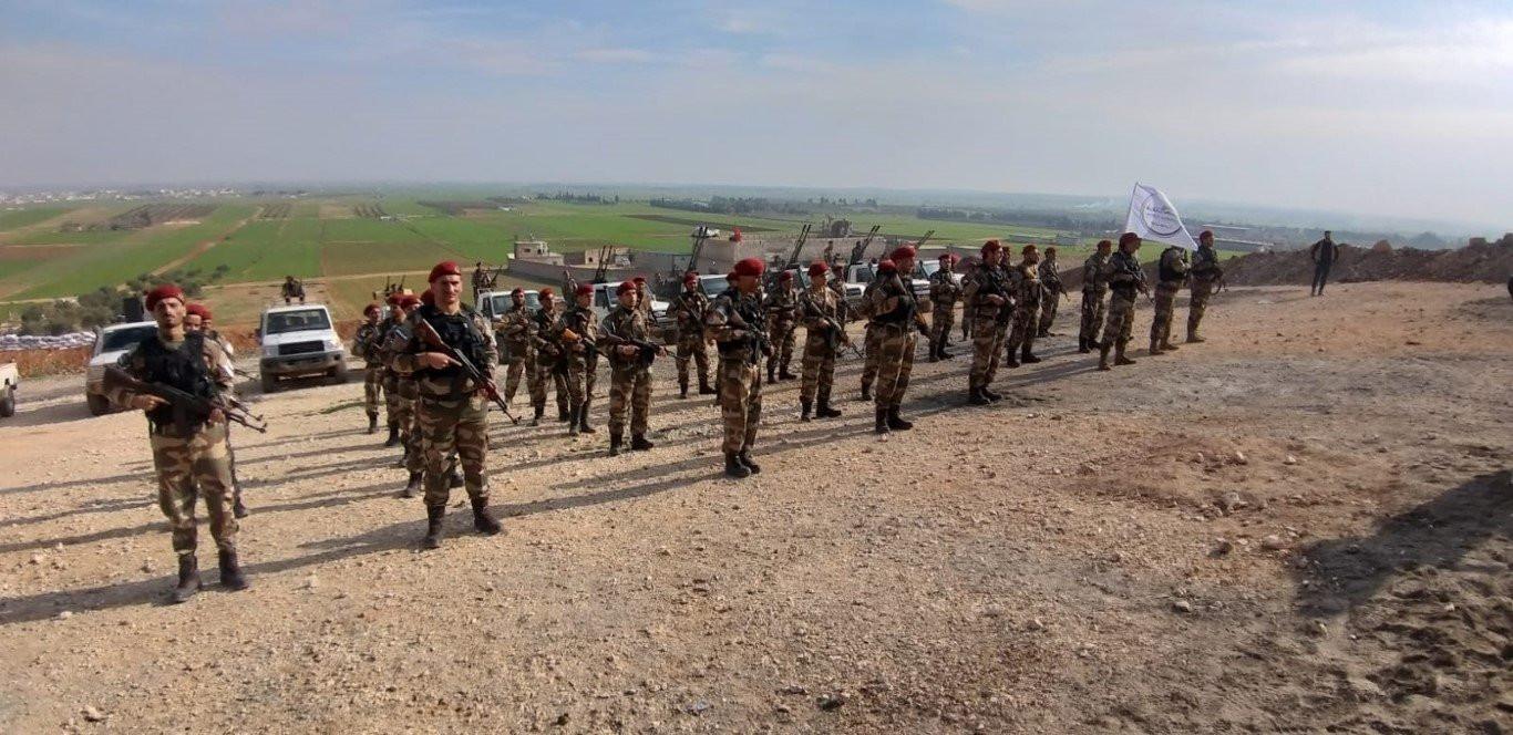 Bordo Bereli Hamza Özel Kuvvetler Tümeni operasyona hazır - Resim: 1