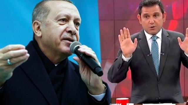 Erdoğan, Fatih Portakal'ı yerden yere vurdu