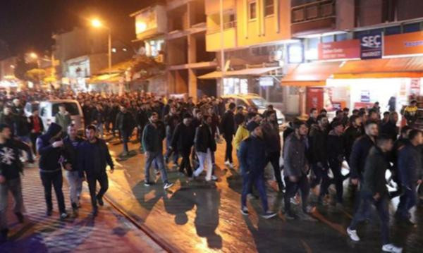 Yine Suriyeli gerginliği ! Mahalleli sokağa döküldü