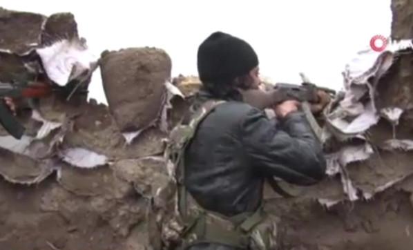 ÖSO askerleri siper aldı ! İşte sınırda son durum