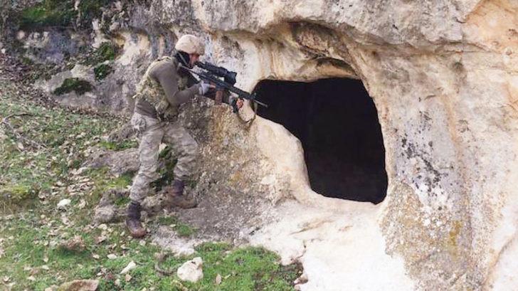 PKK'nın Tunceli'deki 1 kilometrelik tüneline operasyon