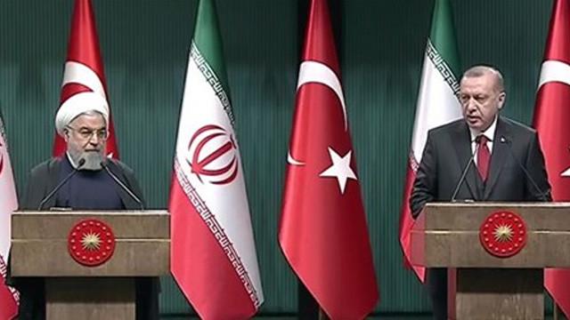 Erdoğan ve Ruhani'den ortak açıklama
