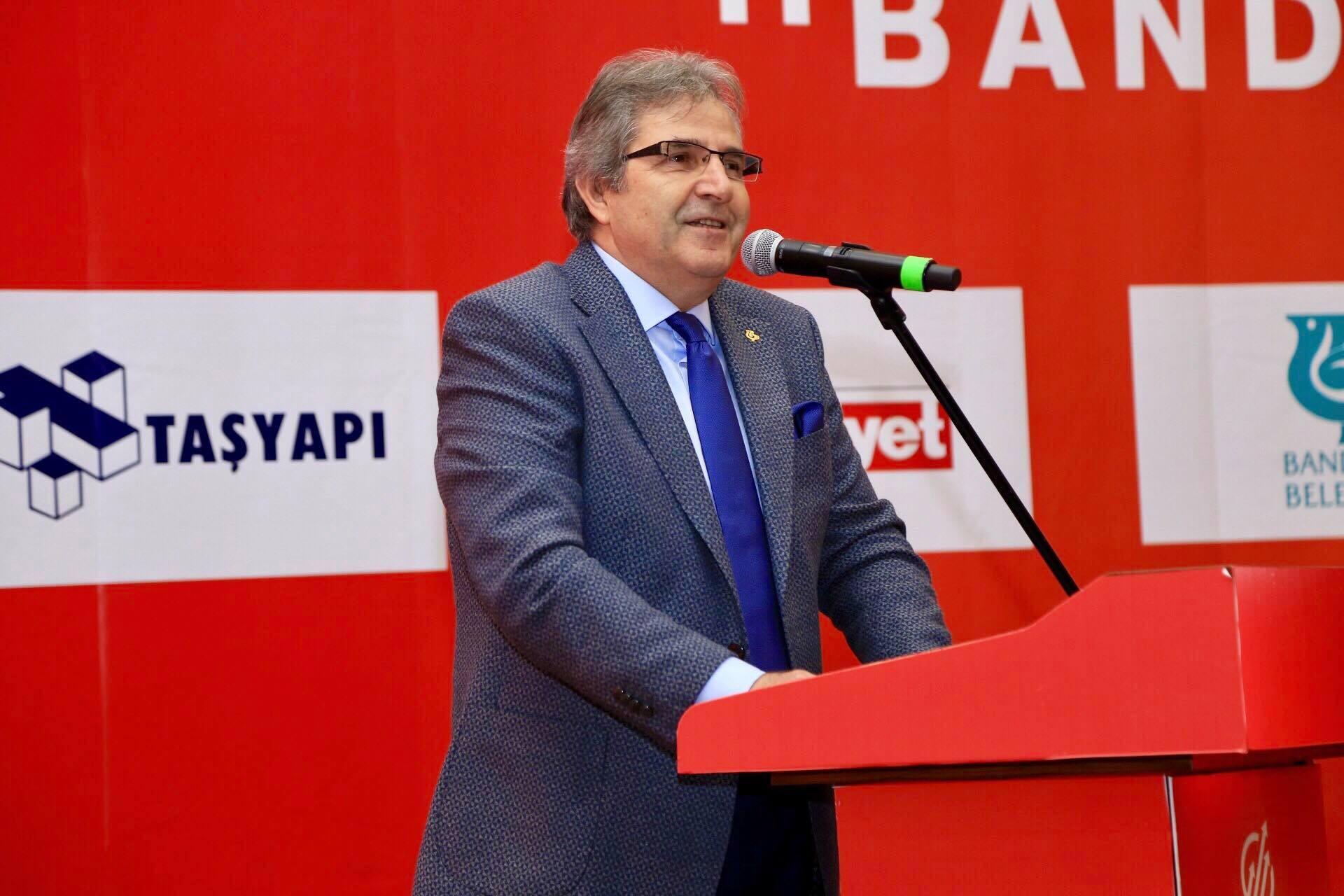 Dursun Mirza: ''Bandırma'da sanayiyi geliştirmeliyiz''